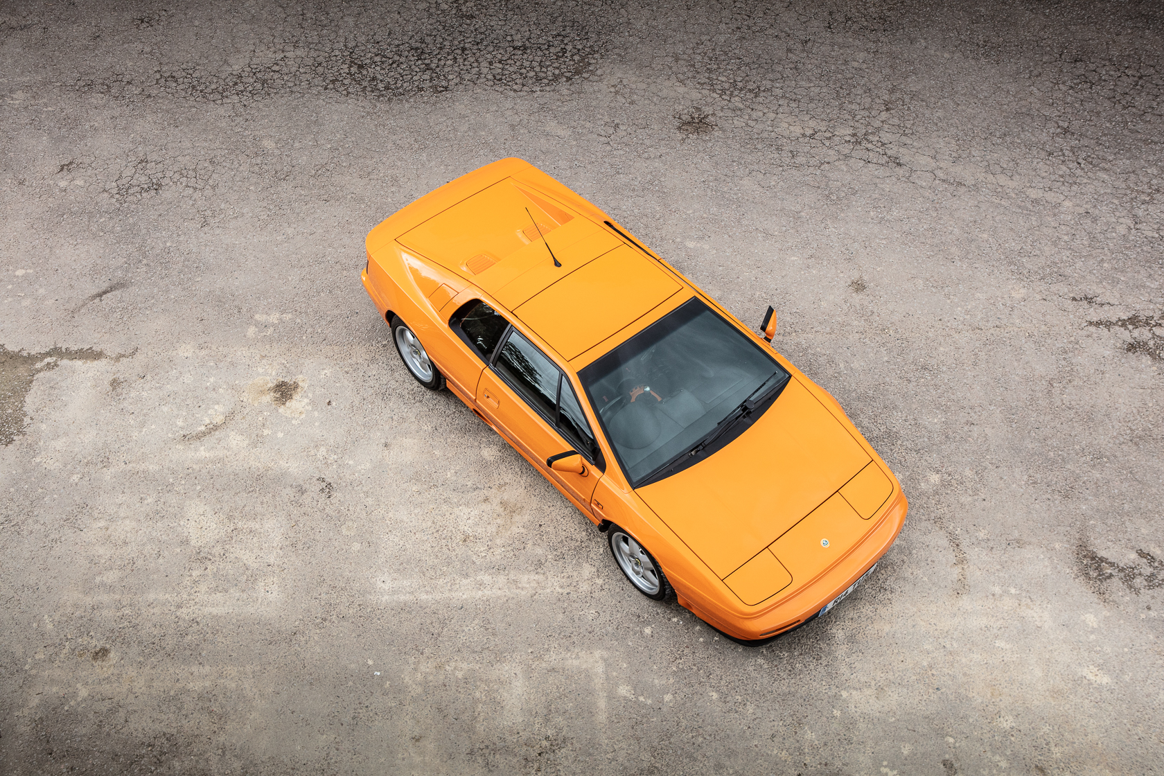 lotus esprit gt3 from above